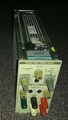 Tektronix PS503A Dual Power Supply Plug-In Unit for Rack Module