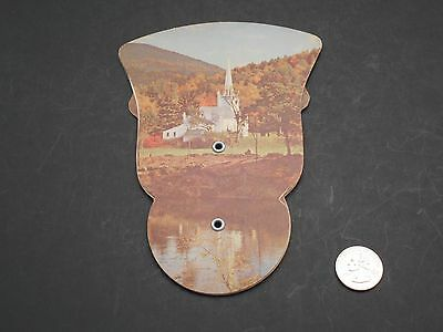 Vintage Advertising Fold-out Cardboard Hand Fan, Reeder Funeral Homes Phone 6191