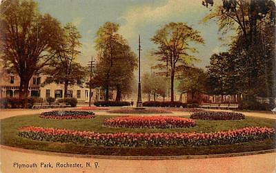 ROCHESTER, NY  New York             PLYMOUTH PARK            1909 Postcard