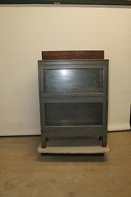Metal Barrister Bookcase, Security Steel Equipment Corp. Lot 185