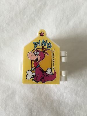 1988 Hanna Barbera Flintstones Dino Toothbrush Wall Mount Holder Rare