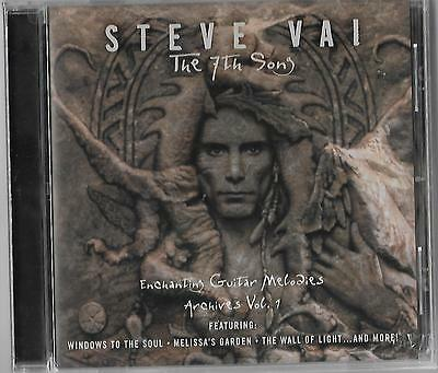 "STEVE VAI ""Enchanting Guitar Melodies (Archives Vol. 1)"" NEW and SEALED CD!"