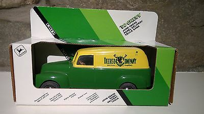 John Deere 50 Chevy Panel Delivery Diecast Truck Bank, 1/25 scale, ERTL. In box.