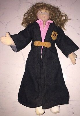 """Harry Potter Friend HERMIONE  GRANGER 11"""" GUND Soft Posable Doll Collectible (A)"""