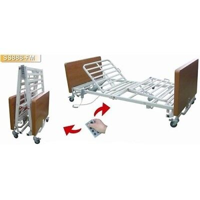 New BED900678-Electric Folding Hospital Bed-Single aged care equipment