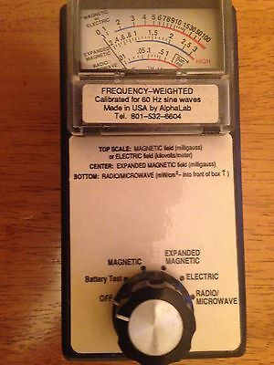 TriField Meter  Made in USA by AlphaLab