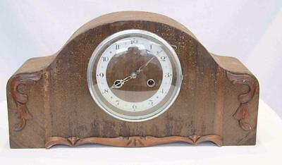 Bedroom T.F Hatlley PTY LTD Wind-Up Clock Vintage 1947 Classic Mantle #11766