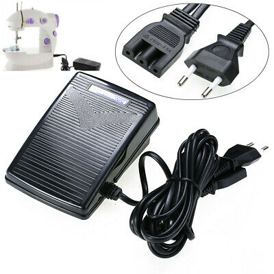 200-240V 50Hz Power Sewing Machine Feet Foot Pedal Controller Switch For SINGER