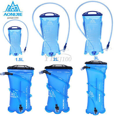 AONIJIE 1.5L 2L 3L Hydration System Water Bladder Bag Camping Hiking Cycling SD