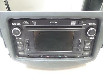 Toyota Rav4 Radio/cd/dvd/sat/tv Radio/cd, W/ Bluetooth Type, Aca33, 01/06-12/12