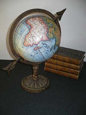 Final CLEARANCE SALE!!  Fabulous FRENCH WORLD GLOBE ... In French Language