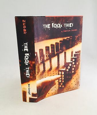 The Book Thief-Markus Zusak-SIGNED w/ Drawing!!-First/1st Edition/2nd Printing!!