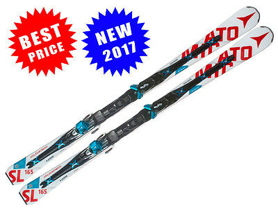 NEW INTRO 2017- Skis Atomic Redster Doubledeck D2 3.0 SL +bindings XT 12 TL -GLS