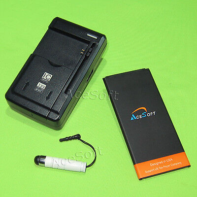 New Replacement 3970mAh Battery Wall Charger Pen for Samsung Galaxy Mega 2 G750A