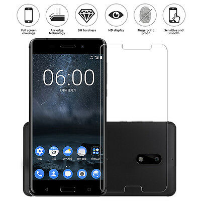 Premium Thin 9h+ Tempered Glass Screen Film Guard Protective mj For Nokia 6