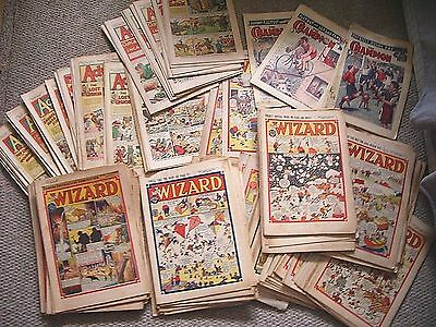 150 Issues The Wizard Comic 1945-1951 + 40  Adventure 46/49 A Few Champion 200