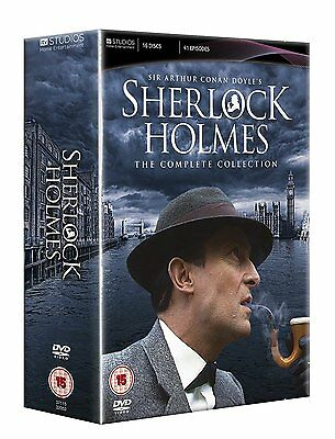 Sherlock Holmes The Complete Collection DVD Doyle's (16 DISCS 41 EPISODES) #D2