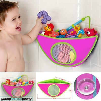 Baby Kids Bath Toy Tidy Net Organiser Storage Bag Play Baby Mesh holder