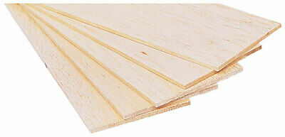 5.0mm Thick balsa wood sheet model making architect arts crafts various lengths