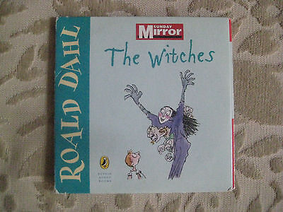The Witches by Roald Dahl audio book promo CD
