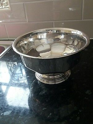 Silver plated Mappin & Webb bowl