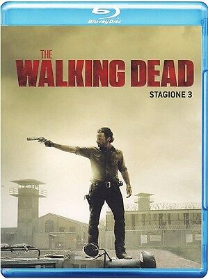 The Walking Dead - Stagione 3 - 4 Blu-Ray - Cofanetto Nuovo, Italiano