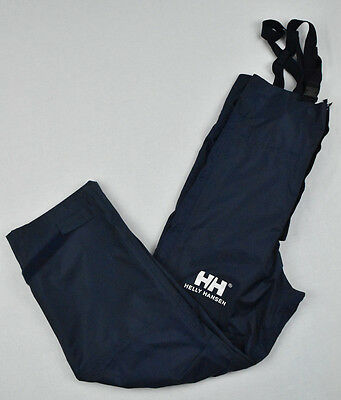 Junior Helly Hansen Pants Coated Protected Salopettes Size 14y 164cm
