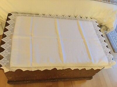 Vintage Lace Pillow Case-28X19""