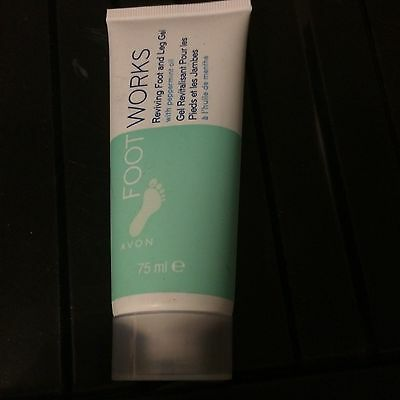 Avon Foot Works Healthy Reviving Foot And Leg Gel, Peppermint 75 ml