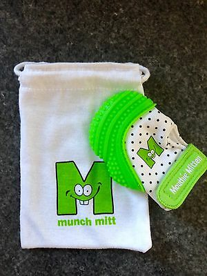 Munch Mitt Baby Teething Mitten Glove Toy - Excellent Condition