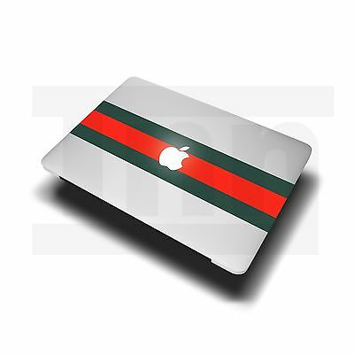 "Gucci stripe sticker decal macbook Apple MacBook Air/Pro 11"" 12"" 13"" 15"" supreme"