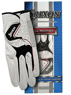 Srixon All Weather Golf Glove -  Various Sizes - Left Handed