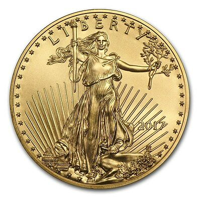 Special Price!! 2017 1/10 oz Gold American Eagle Coin Brilliant Uncirculated BU