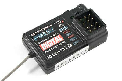 Etronix GFSK 3 Channel 2.4GHZ Receiver (For ET1060) ET1095