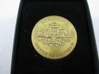 2005 60th Anniversary of the End of WW11 - Service to Australia Medal - SUPERB