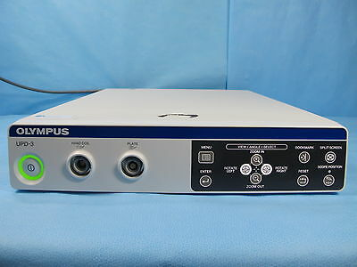 Olympus Endoscope Positioning System ScopeGuide w/ Receiver and Cables - UPD-3