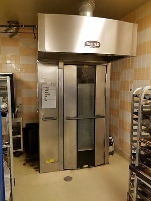 2014 Baxter Single Rack Bakery Oven (Nat Gas) (60 Day Warranty) Come With 1 Rack