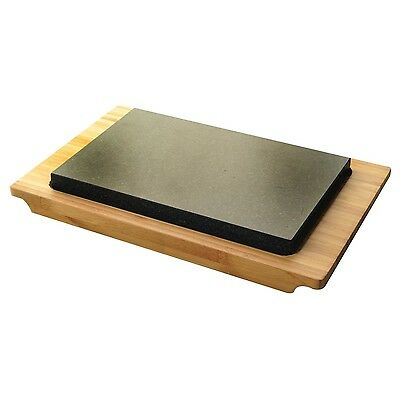 Typhoon Hot Stone & Bamboo Serving Set | Steak Hot Plate Hot Stone Food Warmer