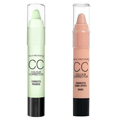 New Sealed Max Factor CC Colour Corrector Stick Concealer | 2 Options