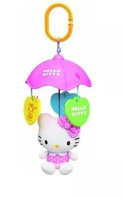 Hello Kitty Sanrio Mobile Baby Infant Toy Plush Doll Stroller Very Rare!