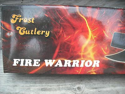 New In Box With Cellophane Fire Warrior Black Blade And Knife Handle