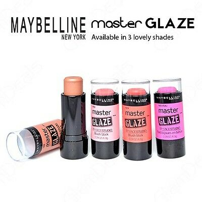 New Maybelline Master Glaze by FaceStudio Blush Stick in 2 Lovely Shades