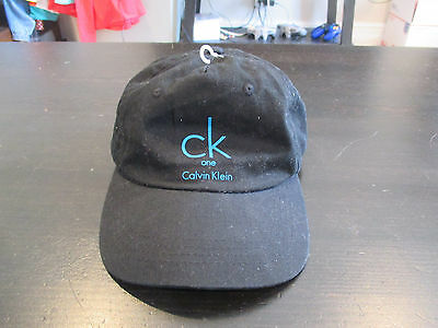 e31f5b77783 VINTAGE Calvin Klein Strap Back Hat Red CK Spell Out Dad Cap Black Blue 90s