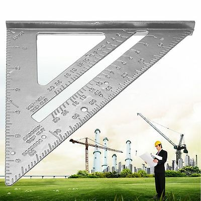 Roofing Triangle Ruler Speed Square Angle Protractor Measuring Sharpeners