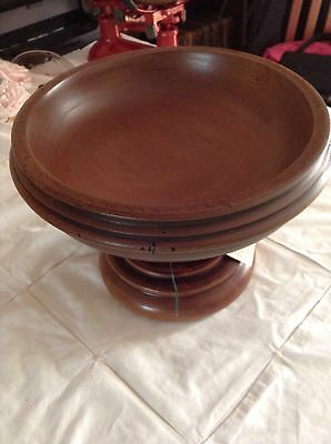 New Wooden Bowl By Treasure Hill Collection. Label On
