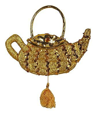 Genie Lamp Jasmine Costume Handbag Sequin Purse