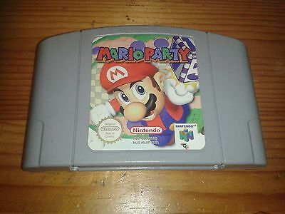Nintendo 64 Game * MARIO PARTY * N64