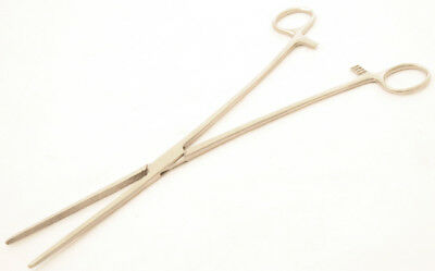 """Bdeals New 12""""""""Straight Hemostat Forceps Locking Clamps - Stainless Steel"""