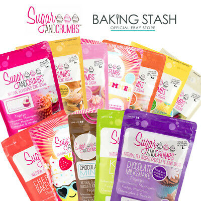 Sugar and Crumbs Flavoured Icing Sugar - Buttercream, Cake Batter & More! - 500g