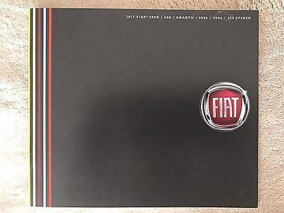 Fiat 2017 Product Guide Brochure - New